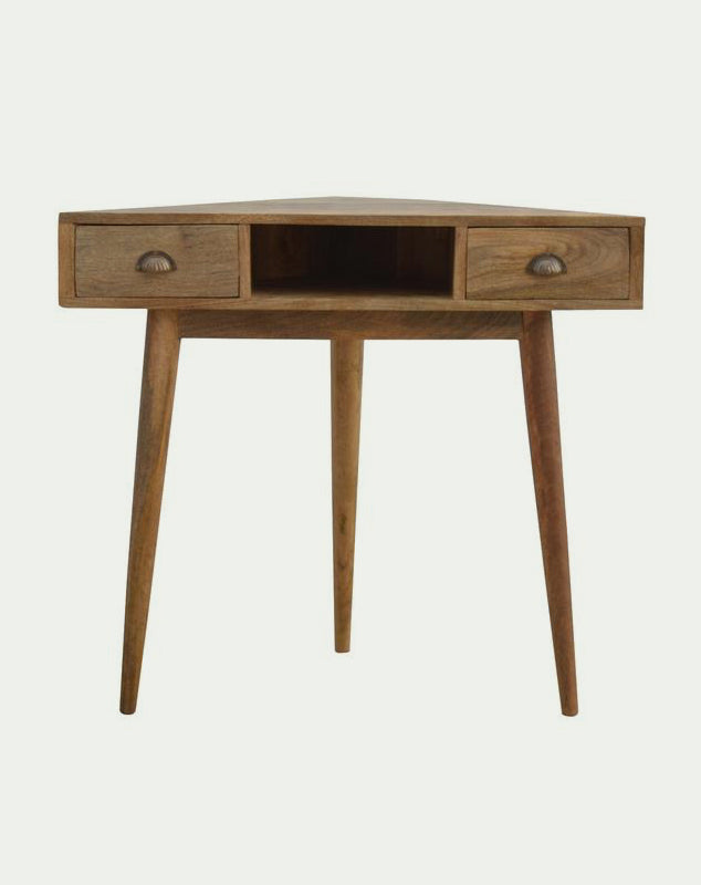 Corner writing desk from Mocha Home UK 8906057249022
