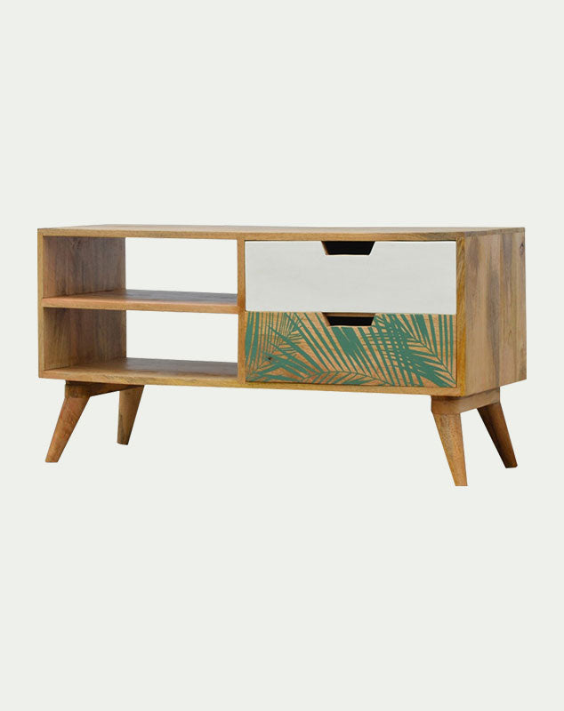 Verdure foliage media unit from Mocha Home 8906057244317