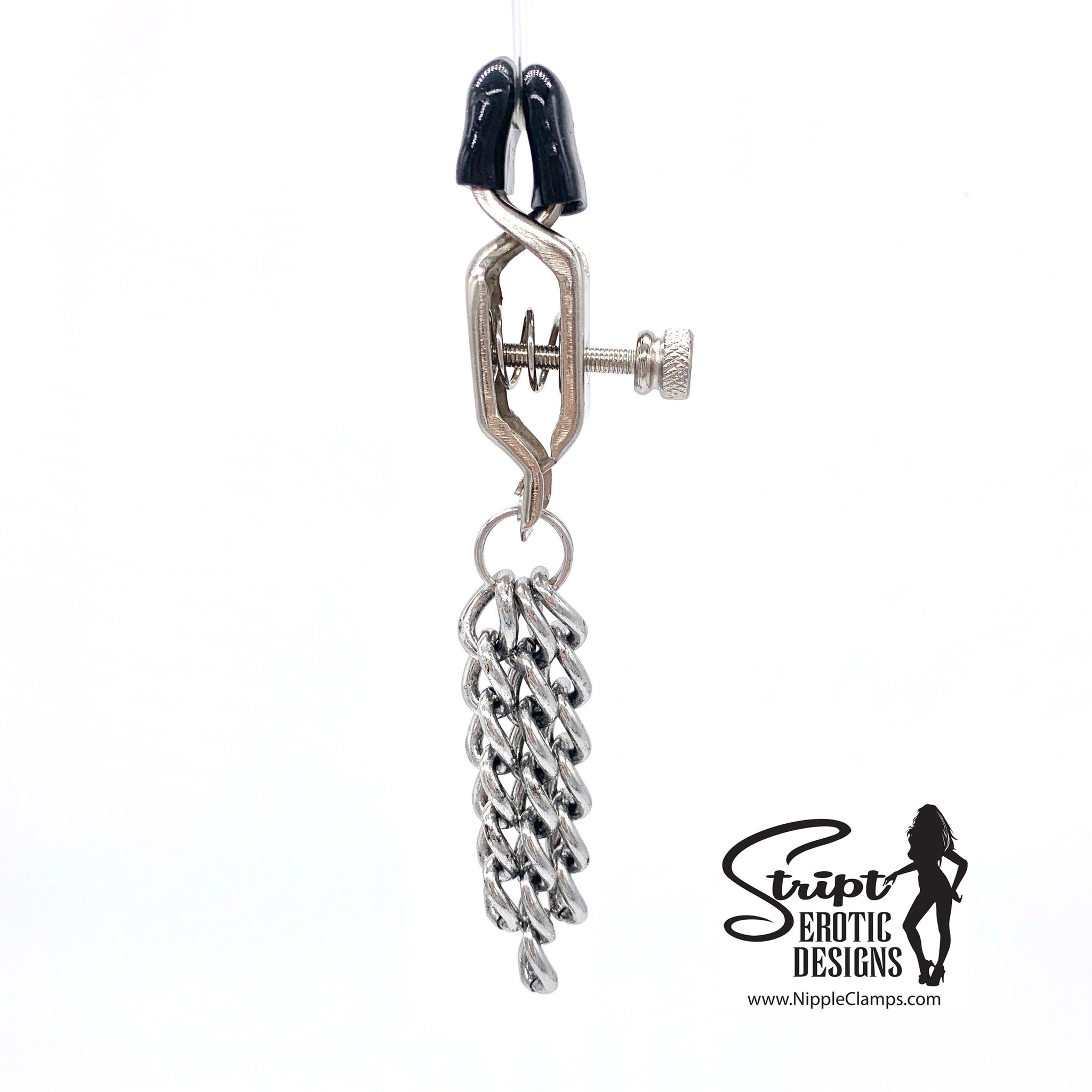 Heavy Chain Basic BDSM Nipple Clamps
