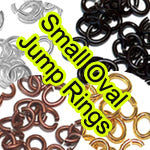 Small Oval Jump Rings