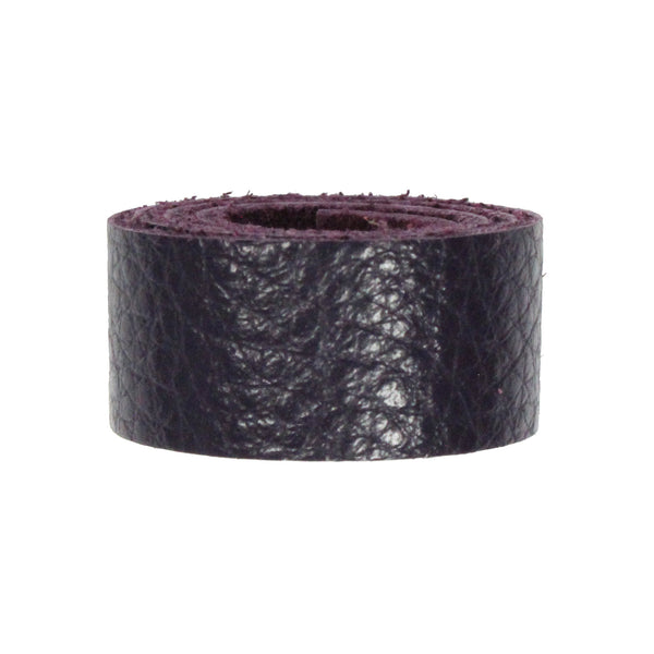 PURPLE Leather Strap / pre-cut 10 inch (Length) x 1/2 inch (Wide) / TierraCast USA
