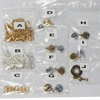 Component Kit for Charms In Harmony Chainmail Bracelet