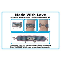 Component Kit for Made With Love Chainmail Bracelet