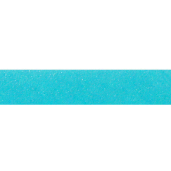 TURQUOISE PUYA Italian Dolce Flat Leather Strap / sold by the meter / 10 mm wide x 2 mm thick / Regaliz Euro leather