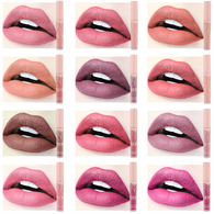 12 COLOR/SET All Day Waterproof Matte Lipstick