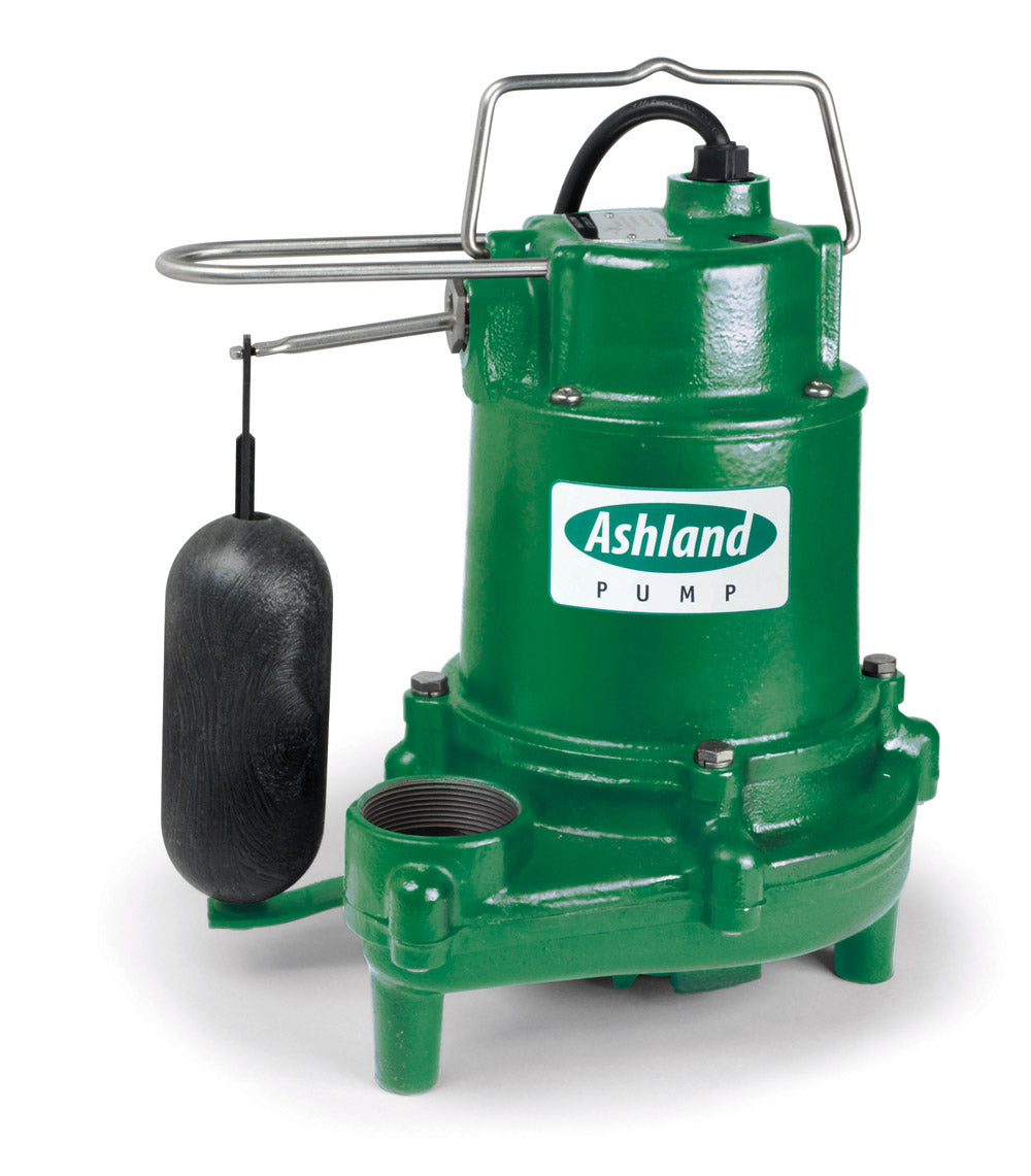 Ashland Sump Pump, Cast Iron - SPV33