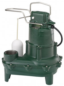 Zoeller Model 264 Sewage Pump Submersible (4/10hp)