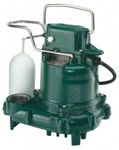 Zoeller Model 53 Sump Pump, Cast Iron (1/3hp)