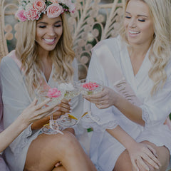 luxury bridesmaids robes