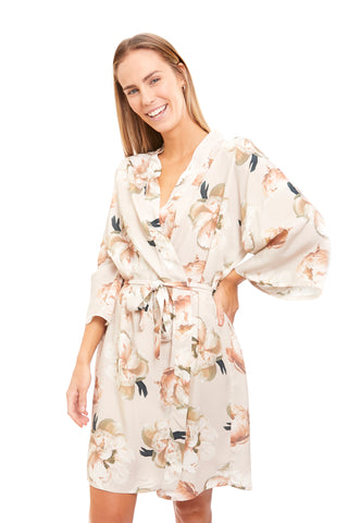 Button Down Collar Bridesmaid Short Pajama Set - Meghan