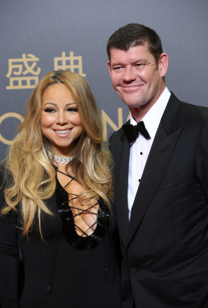 Mariah Carey and her ex, James Packer.