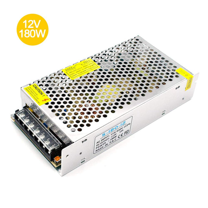 Universal Regulated Switching Power Supply 12V 15A 180W