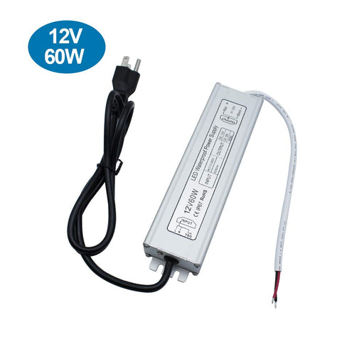 IP67 Waterproof 12V 5A 60W Power Supply