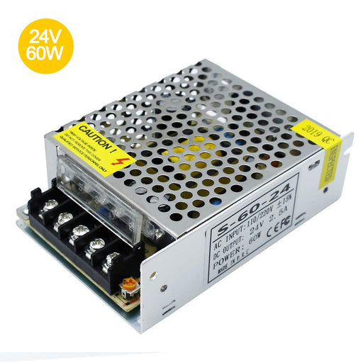 Universal Regulated Switching Power Supply 24V 2.5A 60W