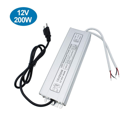 IP67 Waterproof 12V 16.6A 200W Power Supply