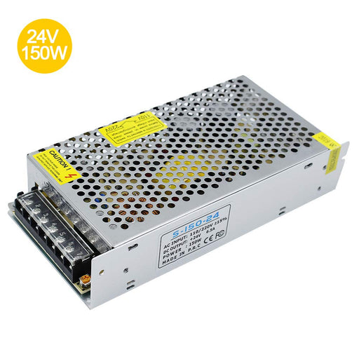 Universal Regulated Switching Power Supply 24V 6.5A 150W