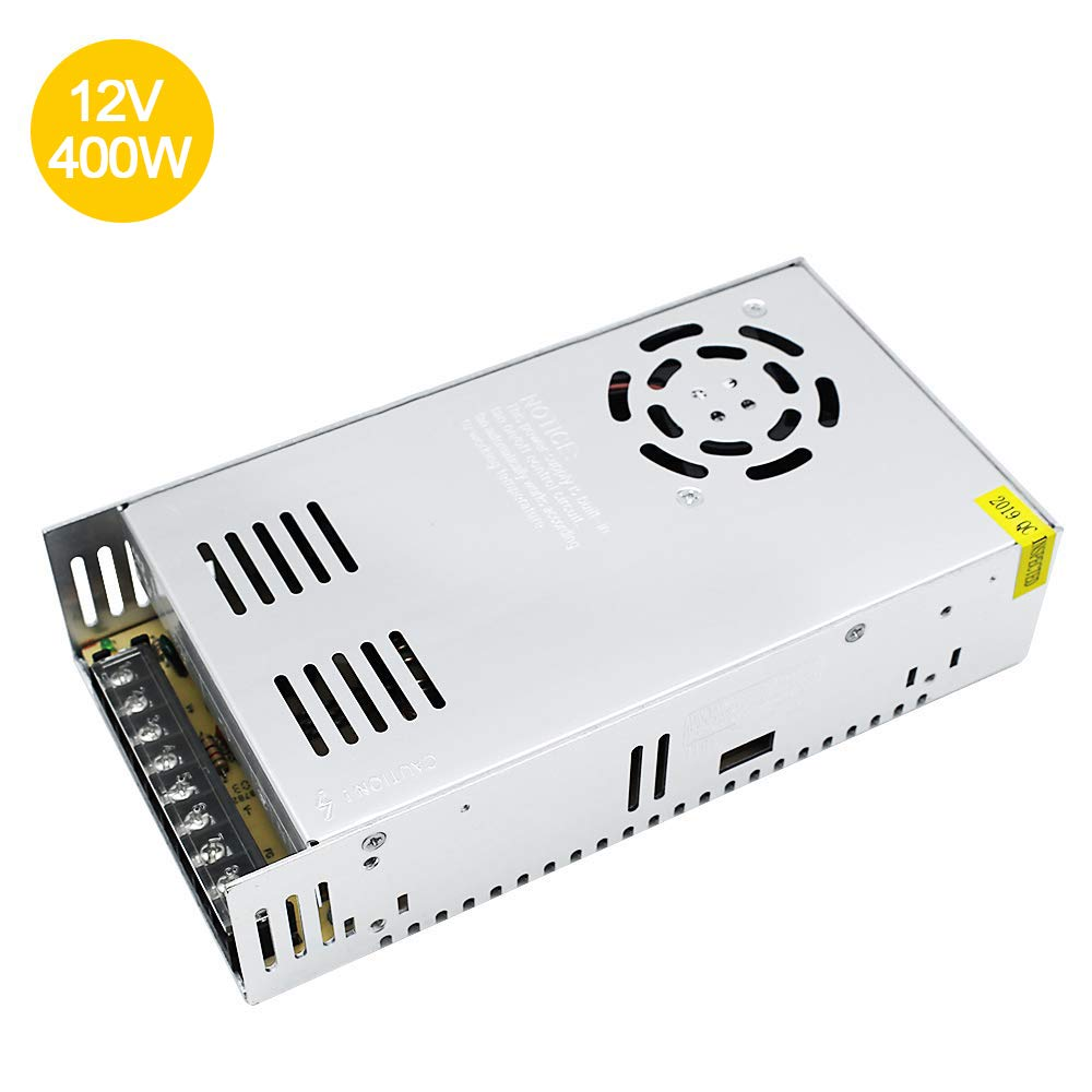 Universal Regulated Switching Power Supply 12V 33A 400W