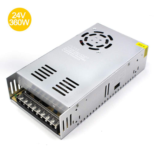 Universal Regulated Switching Power Supply 24V 15A 360W