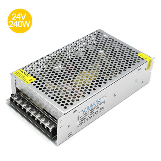 Universal Regulated Switching Power Supply 24V 10A 240W