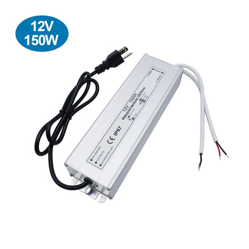 IP67 Waterproof 12V 12.5A 150W Power Supply