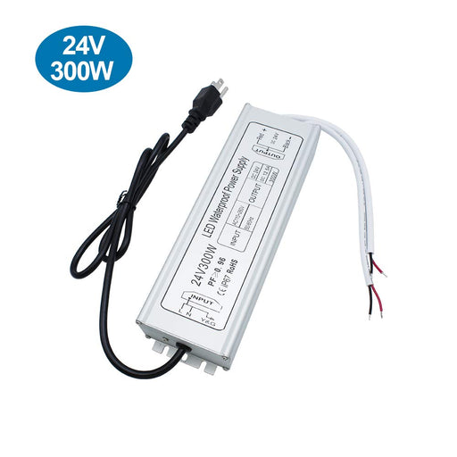 IP67 Waterproof 24V 12.5A 300W Power Supply