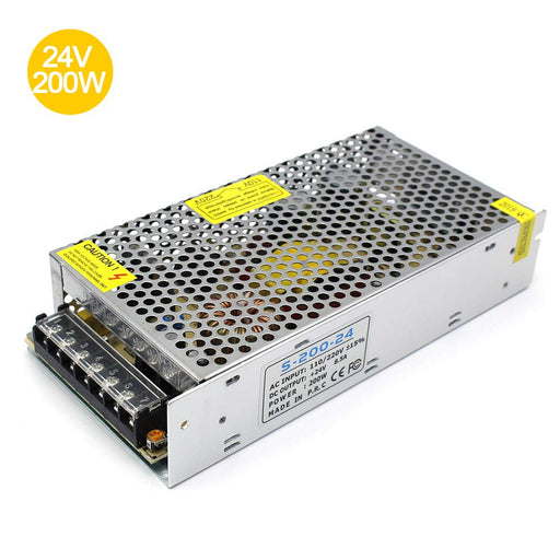 Universal Regulated Switching Power Supply 24V 8.5A 200W