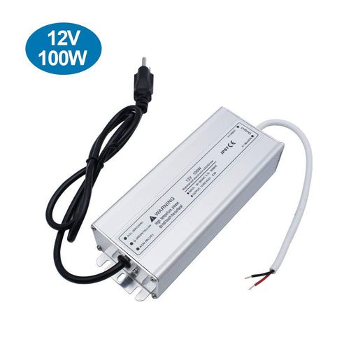 IP67 Waterproof 12V 8.5A 100W Power Supply