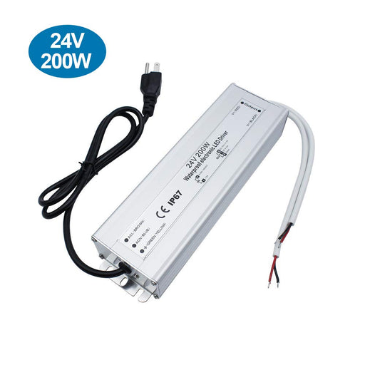 IP67 Waterproof 24V 8.3A 200W Power Supply