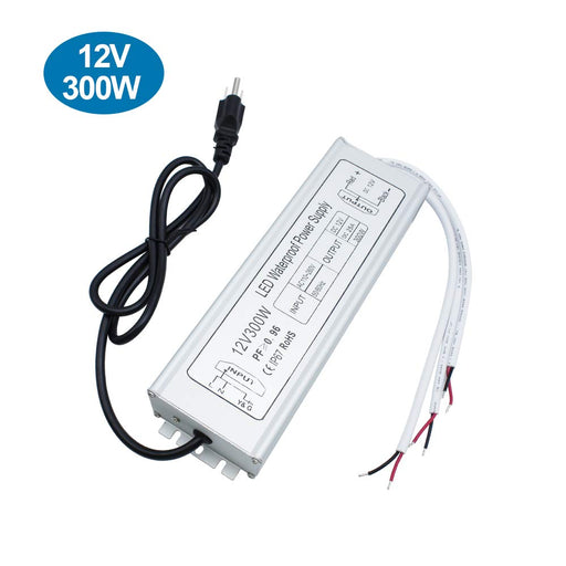 IP67 Waterproof 12V 25A 300W Power Supply