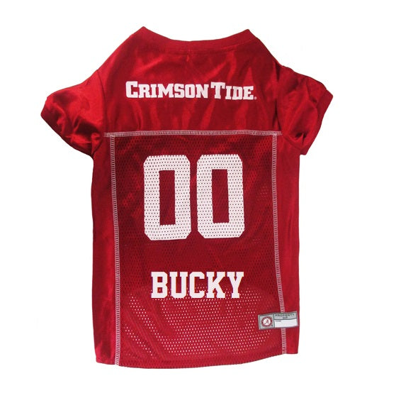 5771fe7d9f9 Alabama Crimson Tide Personalized Pet Jersey – Tags4Paws