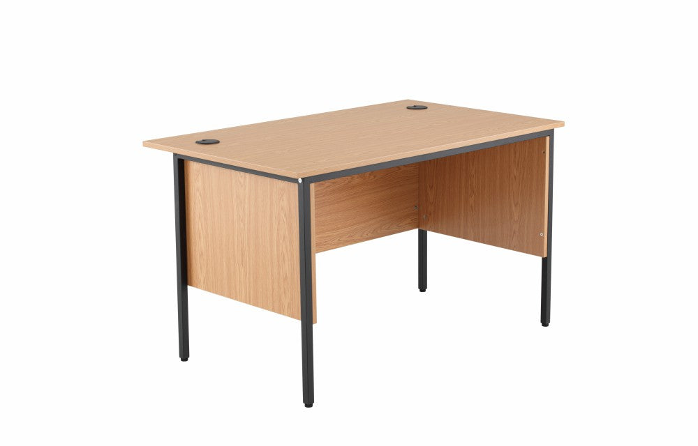 1228mm Single Desk with Side Modesty