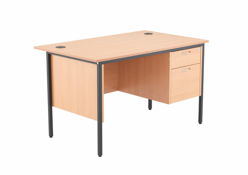 1228mm Single Pedestal Desk