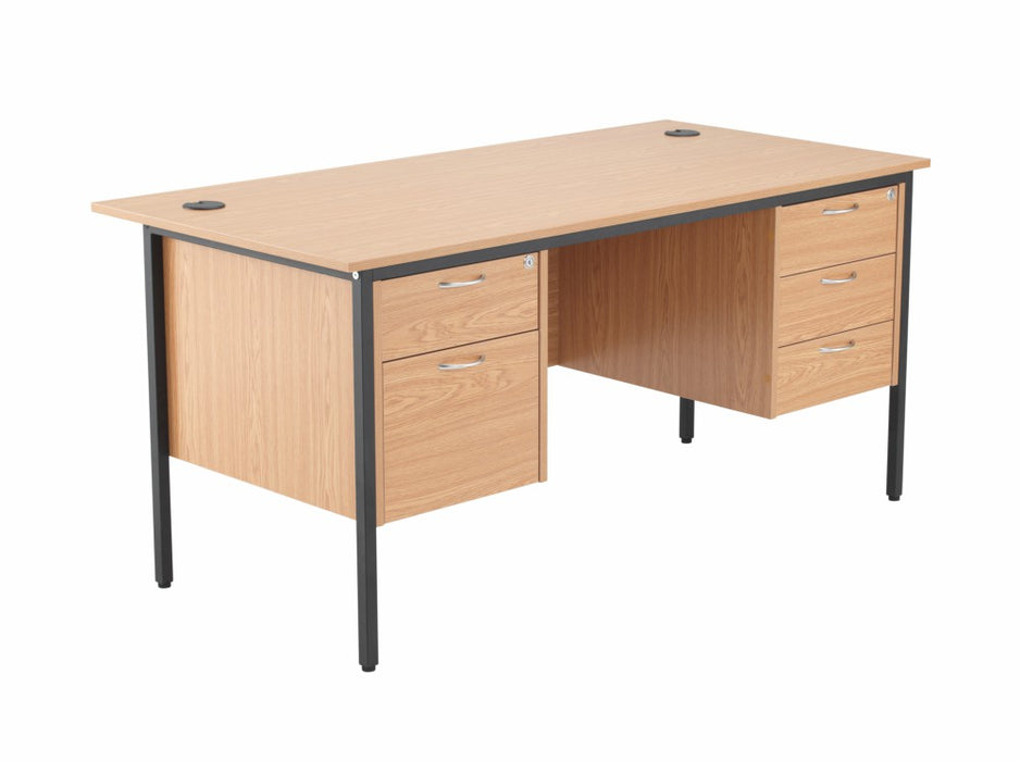 1532mm Double Pedestal Desk