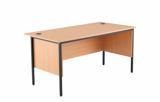 1532mm Single Desk with Side Modesty