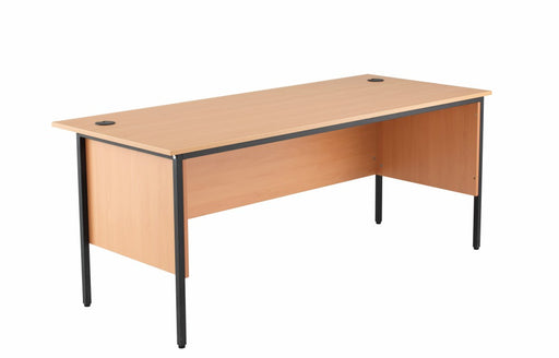 1786mm Single Desk with Side Modesty