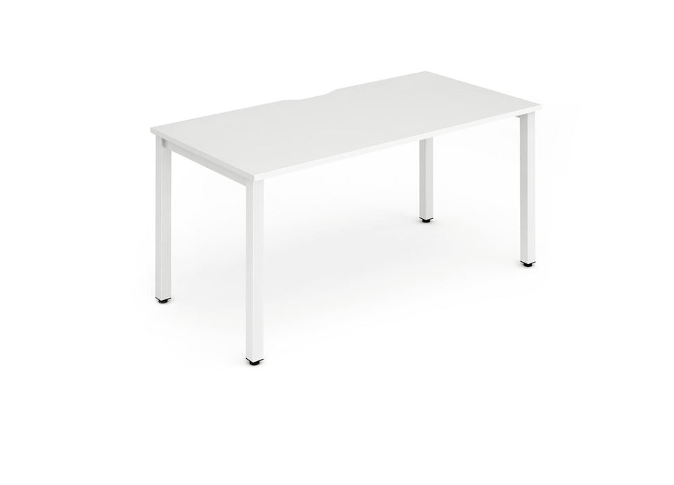 Single Frame Bench Desk 1600