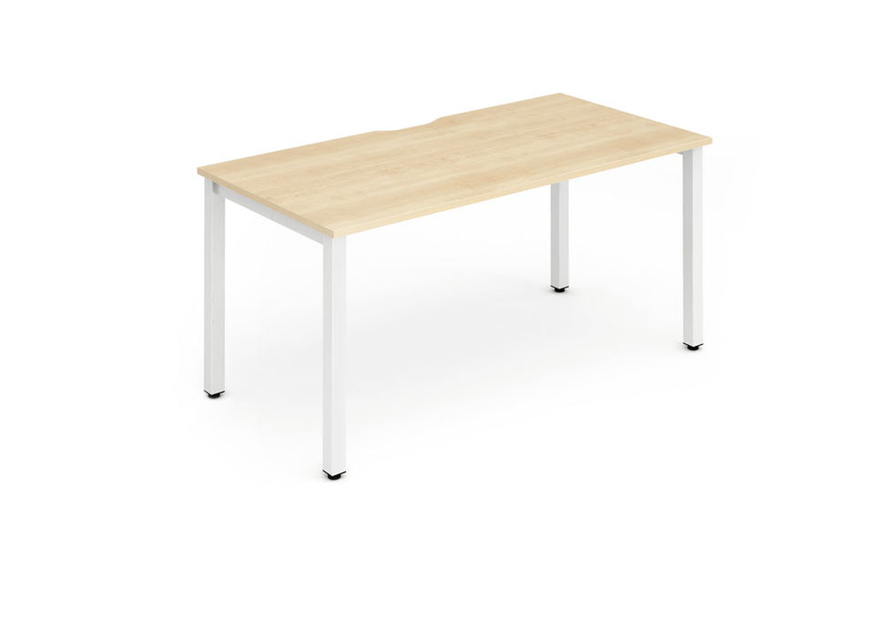 Single Frame Bench Desk 1400