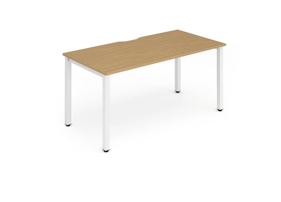 Single Frame Bench Desk 1200