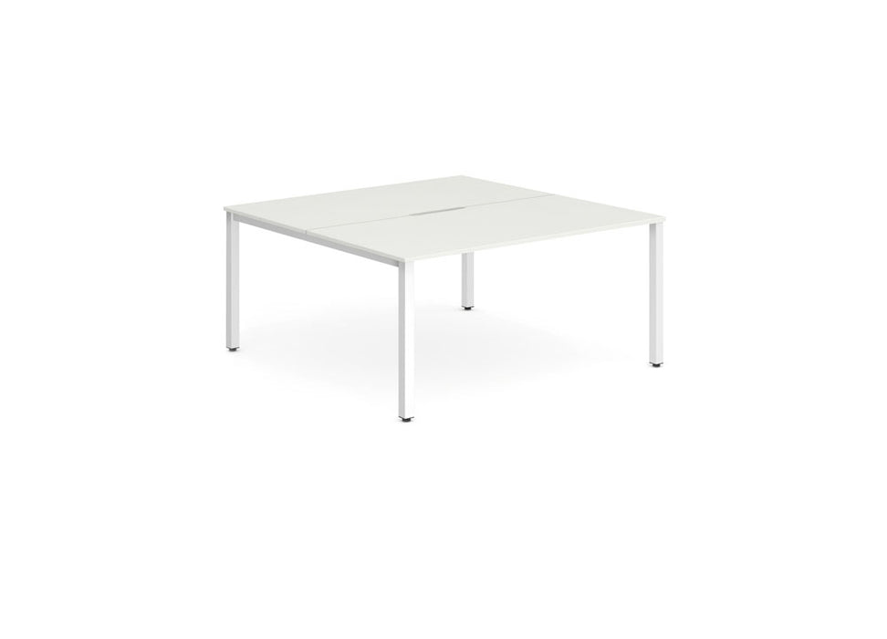 Executive B2B Frame Bench Desk 1200 2pod