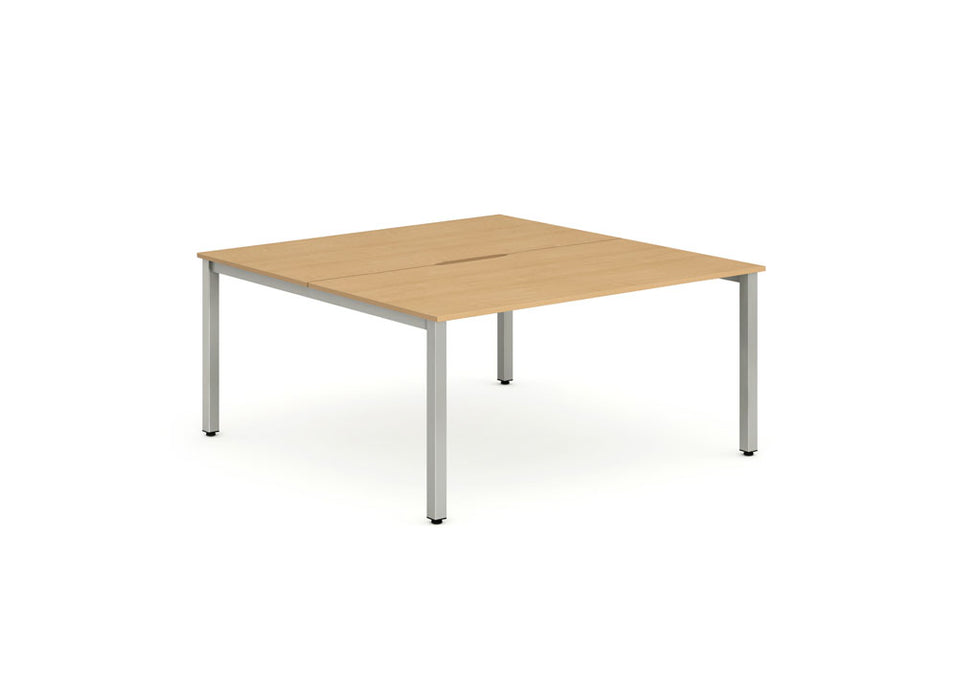 B2B Frame Bench Desk 1400 (2pod)