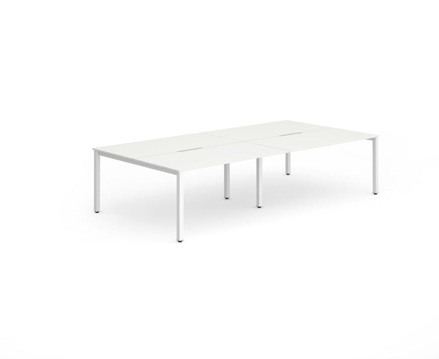 Executive B2B Frame Bench Desk 1400 4pod