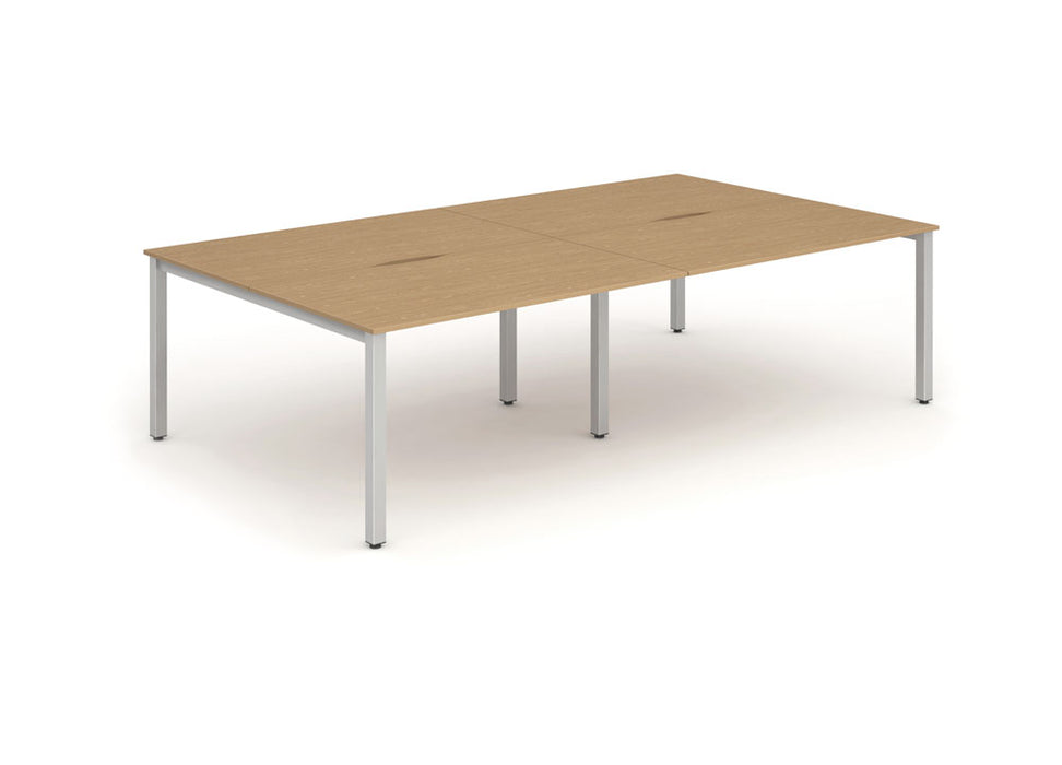 B2B Frame Bench Desk 1600 (4pod)