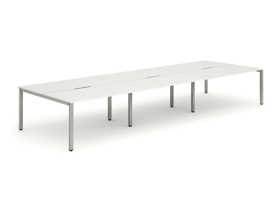 B2B Frame Bench Desk 1400 (6pod)