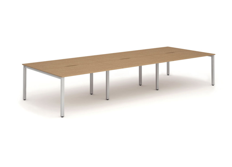 B2B Frame Bench Desk 1200 (6pod)