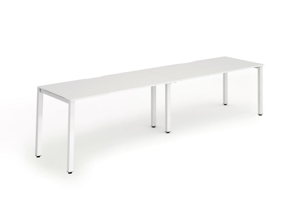 Executive Single Frame Bench Desk 1200 2pod