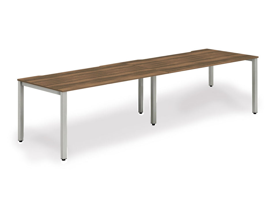 Executive Single Frame Bench Desk 1600 2pod