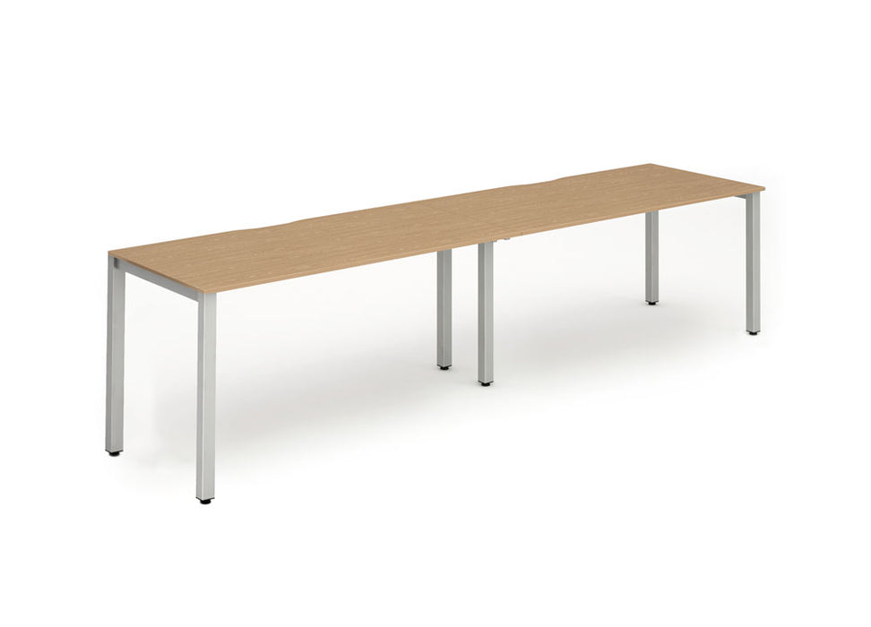 Single Frame Bench Desk 1600 (2pod)