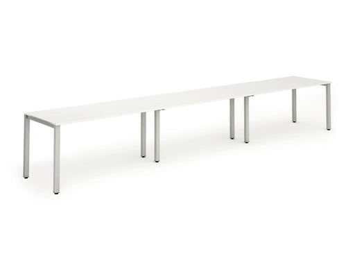 Executive Single Frame Bench Desk 1600 3pod