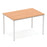 Impulse Straight Table 1200 Box Frame