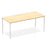 Impulse Straight Table 1800 Box Frame